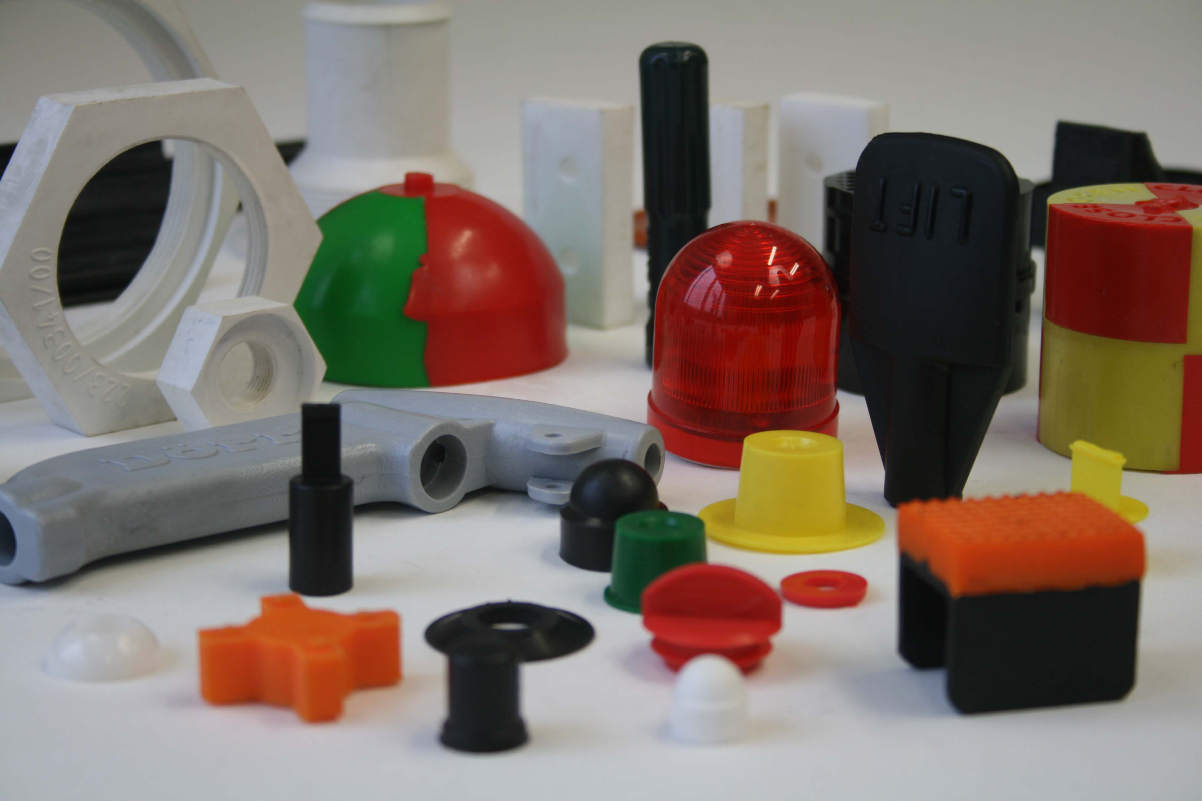 URM rubber moulded parts